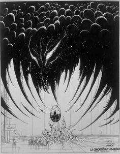 Original art by Moebius in category Strips