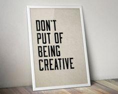 Printable Art - Inspirational Quotes - Motivational Art Prints