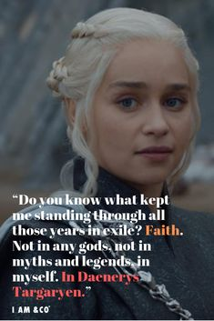 MUST READ: 10 Daenerys Targaryen Quotes As Fiery As The Mother Of Dragons Game Of Thrones inspirational quotes, inspirational quotes motivation, inspirational quotes for women Game Day Quotes, Got Quotes, Self Love Quotes, Quotes To Live By, Life Quotes, Daenerys Targaryen, Daena Targaryen, Khaleesi, Game Of Thrones Pictures