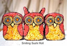 They say food is art, but Sushi Art takes the concept to a WHOLE new level. Many expert sushi connoisseurs already consider sushi an art form but these reinterpretations of Japanese Rice Dishes, How To Make Sushi, Sushi Art, Sushi Rolls, Japanese Artists, Punch Needle, Seaweed, Tangled, Food Art