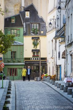 Parisian Stroll, Latin Quarter, Paris France. © Brian Jannsen Photography