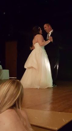 Father/Daughter dance; wedding gown by Bombshell Bridal