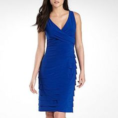 Bridesmaid dress? American Living Tiered Dress - jcpenney