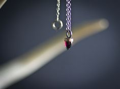 5mm Amethyst bullet with a 14k rose gold setting  with beloved coin on a 17in silver chain. charm necklaces gift charm