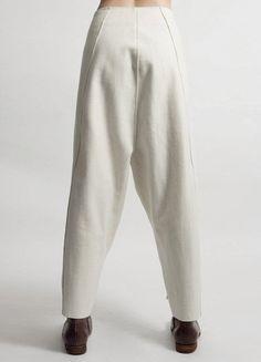 Futurictic Original Ofelya Ladies Woolen Trousers / Casual Drop Crotch – Ofelya Boutique