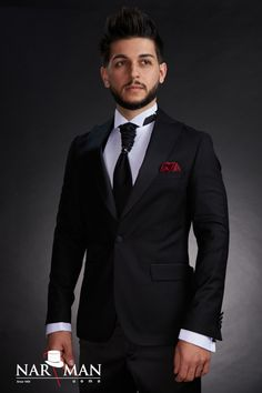 Men, s tuxedo in Bucharest. Wing Collar, Black Italians, Men Style Tips, Mandarin Collar, Wedding Suits, Black Tie, Tuxedo, Mens Suits, Costumes