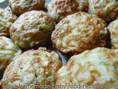 Baby+Finger+Food+Recipe+–+Zucchini+Muffins