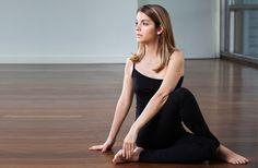 Evening Yoga - Spine Twist Pose