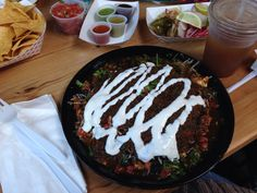 Burrito bowls at El Camion are always a good choice. Especially when consumed with friends.
