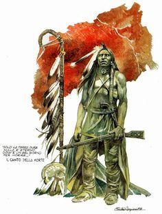 The Art of Paolo Eleuteri Serpieri Jean Giraud, Indian Illustration, Book Illustration, Western Costumes, Serpieri, Design Comics, Indian Pictures, Comic Kunst, Morris