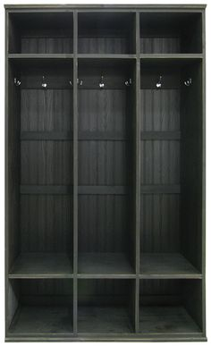 Mudroom Lockers 3 Tall Units