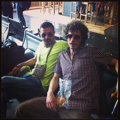 در فرودگاه به سمت نيويورك اباد  با ميشاييل