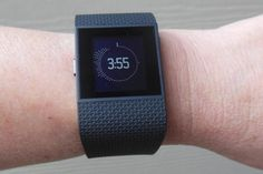 12 Pedometer Watches and Smartwatches to Track Your Fitness: Fitbit Surge - Fitness Super Watch