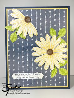 Stampin' Up! Daisy Delight for Simply Stampin' Sunday