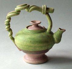Unique tea pot.