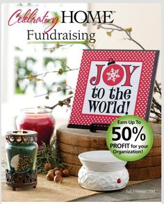 Looking for a fundraising opportunity to support your organization?  Our fundraising program is community minded, with up to 50% of all sales benefiting an organization's goal. With so many organizations in need of funding, we are thrilled to give back to local sports teams, schools, churches and other organizations with this program. Celebrating Home has made our products even more affordable to ensure more families may enjoy them.