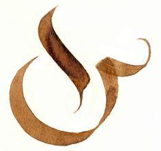 Ampersand Tattoo, Ampersand Sign, Typography Love, Creative Poster Design, Water Into Wine, Modern Fonts, Deviantart, Elegant, Hand Lettering