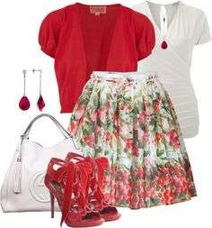 """Cherry Picking"" by brendariley-1 on Polyvore"
