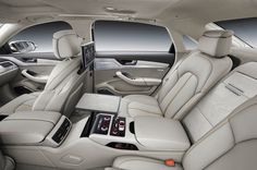 2016 Audi A8 - interior 1