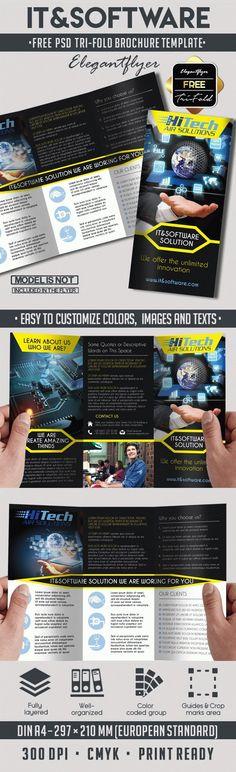 Pet Shop  Free Psd TriFold Psd Brochure Template  Free Brochure