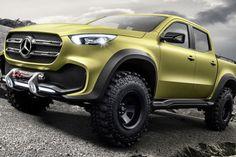 Mercedes Pickup Truck Concept: Here it Is - PopularMechanics.com