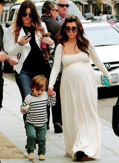 pregnant kourtney and mase!