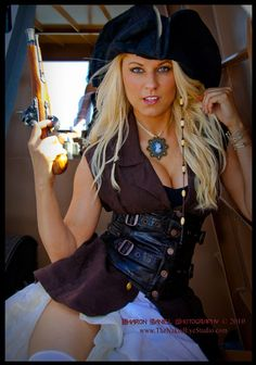 steampunk pirate from threemusesclothing.com - so rocks!