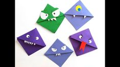 Hungry but good-natured monster bookmarks that latch onto your book and mark the place for you to continue reading! Holiday Activities, Card Case, Bookmarks, Book Worms, Maya, Gifts, Tetra Pak, School Stuff, Teaching