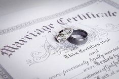 Learn the difference between a marriage license and a marriage certificate so you can be prepared for your wedding. Marriage Records, Marriage License, Marriage Law, Genealogy Search, Family Genealogy, Online Marriage, Genealogy Websites, Family Research, Marriage Certificate