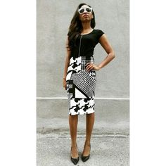 We are loving our new Sharp Pencil Skirt available now! Limited quantity /www.houseoflva.etsy.com