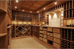 one day i will have a wine cellar!