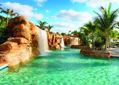 Grotto Pool at the Atlantis Resort in the Bahamas