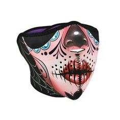 Zan Headgear Neoprene Masks - Half Face - Competition Accessories
