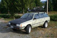 Lifted Subaru GL Wagon