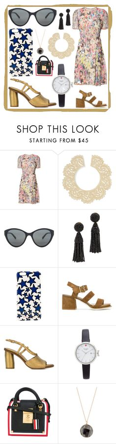 """POLYVORE POM POM"" by justinallison ❤ liked on Polyvore featuring Jason Wu, Valentino, Linda Farrow, Oscar de la Renta, Marc Jacobs, Tod's, Roberto Del Carlo, Kate Spade, Thom Browne and Roberto Coin"
