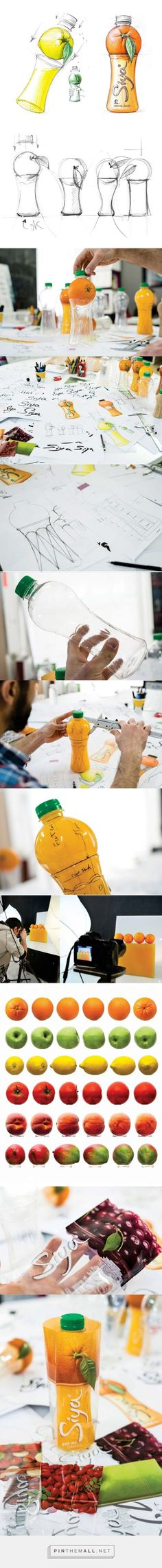 Siya Juice Packaging Development by Backbone Branding - http://www.packagingoftheworld.com/2016/04/siya.html: