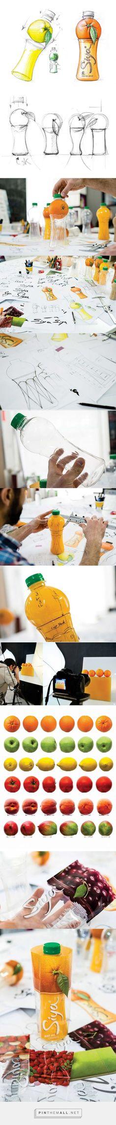 Siya Juice Packaging Development by Backbone Branding - http://www.packagingoftheworld.com/2016/04/siya.html: