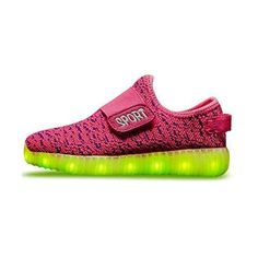 detailed look 9efd1 87373 Comprar Ofertas de Sollomensi Unisex Zapatillas con luces 7 Colors USB