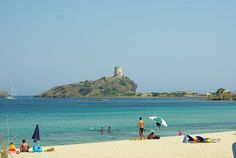 Nora beach, Pula, Sardinia