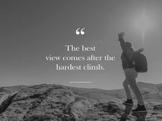 Need some hiking quotes to give you inspiration and motivation? Take your pick of these inspirational hiking quotes. Great Quotes, Quotes To Live By, Me Quotes, Motivational Quotes, Inspirational Quotes, Positive Quotes, Tour Quotes, 2017 Quotes, Quotes Kids