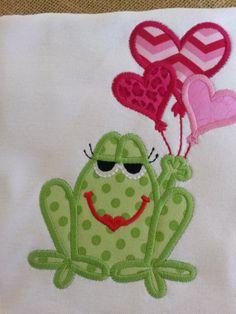 Girls Baby Girls Toddlers Valentine by BunnyluDesigns on Etsy