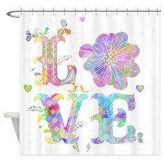 Love Shower Curtain on CafePress.com