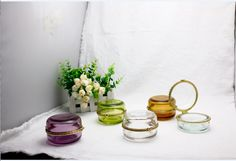 Glass Jewelry Jar for Home Use