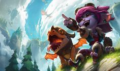 Dragon Trainer Tristana | League of Legends