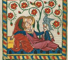 Medieval Love Lyrics for Your Everyday Life – UC Berkeley Comparative Literature Undergraduate Journal Medieval Memes, Medieval Life, Medieval Art, Medieval Manuscript, Illuminated Manuscript, First Love Story, Medieval Paintings, Nature Sounds, Deep Relaxation