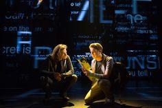 Mike Faist as Connor Murphy and Ben Platt as Evan Hansen in Dear Evan Hansen.