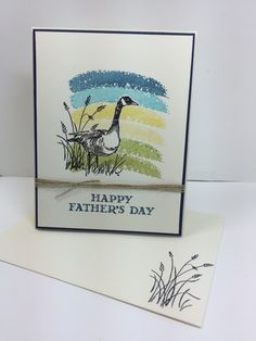 Wetlands Father's Day Card by Stamps-n-lingers - Cards and Paper Crafts at Splitcoaststampers