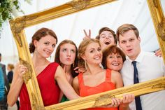 wedding reception fun and funny idea of photo frame game similar to booth great idea for a bride.  Ferla Paolo Photography - Wedding and Ceremonies Photographer in Bath and Bristol