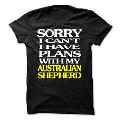 Australian Shepherd T-Shirts, Hoodies. GET IT ==► https://www.sunfrog.com/LifeStyle/Australian-Shepherd-59565376-Guys.html?id=41382