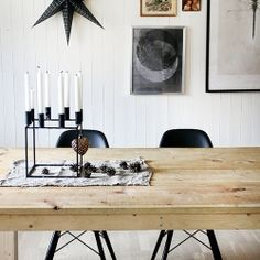 Inspiring colour combo for this Christmas. Via The Style Files.